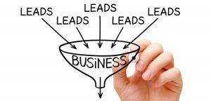 Leads in marketingfunnel