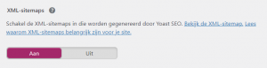Yoast XML-sitemap