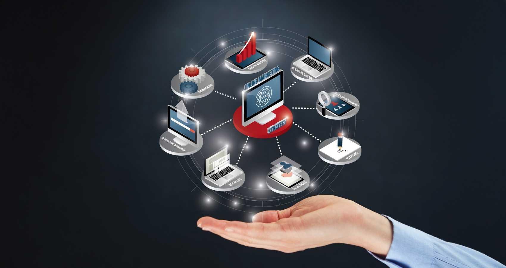 Werkzaamheden online marketeer