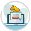 pictogram Email marketing