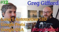 Video: Greg Gifford discusses Google Posts, Google Q&A and local SEO