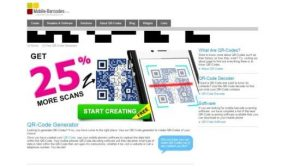 mobile barcodes